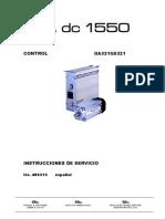 Efka Da321g5321 Instrucciones de Servicio