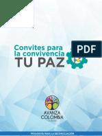 Brochure Tu Paz Convites Para La Convivencia- Avanza Colombia