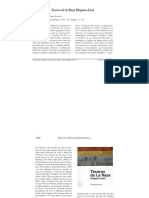 Reseña de Tesoros de la Raya hispano-lusa por Luis Alfonso Limpo Píriz en Revista de Estudios Extremeños nº 2/2016 p. 1461-1464