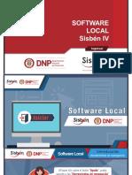 Software Local Sisbén IV