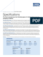 Prorod Spec Sheet