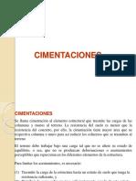 CIMENTACIONES -3unidad
