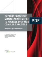 Database Lifecycle Management Emerges to Address Ever More Complex Data Sites