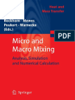 (Heat and Mass Transfer) Karl Sommer (Auth.), Henning Bockhorn, Dieter Mewes, Wolfgang Peukert, Hans-Joachim Warnecke (Eds.)-Micro and Macro Mixing_ Analysis, Simulation and Numerical Calculation-Spri