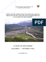 @Mapa de Peligros Plan de Usos Del Suelo y Medidas de Mitigacion Ante Desastres de La Ciudad de San Ramon