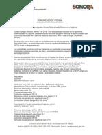 07/02/18  Presenta resultados Grupo Coordinado Sonora en Cajeme –C.021832