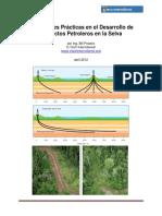 Mejores prácticas del campo petrolero en la selva