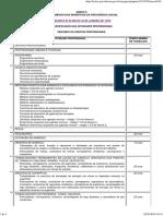 Decreto 83.080 Anexo II