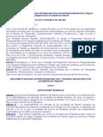 Reglamento Nacional de Responsabilidad Civil y SOAT.doc