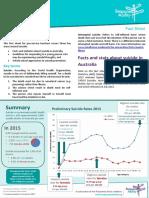 Suicide Fact Sheet
