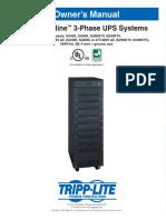 Tripp Lite Su60k Manual de Usuario