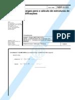 NBR 6120 - Cargas Para o Cálculo de Estruturas de Edificaçoe.pdf