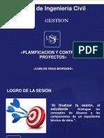 Clase Nro 01 Planificacion y Control de Obra