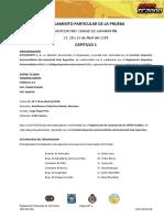 Reglamento Particular de La Prueba Mendoza Aprobado