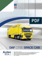 Catalogo Daf Cf85 Space Cab