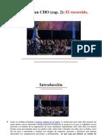 Diario de un CHO (cap. 2)