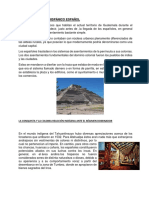 Asentamiento Prehispánico Español