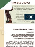 Workshop São Francisco SilvanaBorges