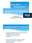 CBT Overview