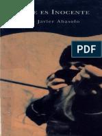 Abasolo, Jose Javier - Nadie Es Inocente