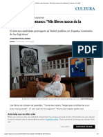 Entrevista a Lobo Antunes 4