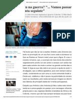 Entrevista a Lobo Antunes 3