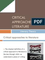 Critical Approaches - Literary Theory PowerPoint--Beckett