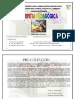 carpeta pedagogica 1° PR IMARIA
