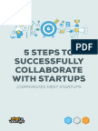 5 Steps to Successfully Collaborate With Startups