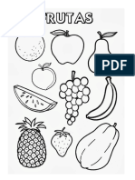 Fruta Para Pintar