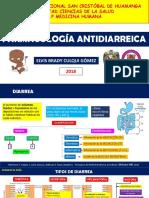 farmacología antidiarreica