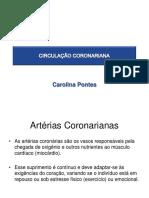 Aula 3 UNINORTE - Circulação Coronariana