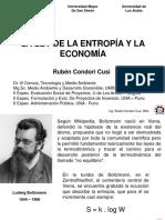1. Entropía y Economía
