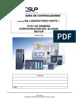 Laboratorio01-PCS7 - Configuración Bloque Motor