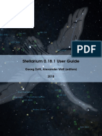 Stellarium User Guide 0.18.1 2