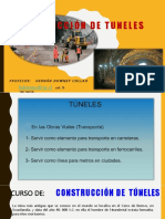 Construcción de TUNELES