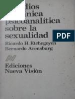 Estudios de clínica psicoanalítica sobre la sexualidad [Ricardo H. Etchegoyen & Bernardo Arensburg].pdf