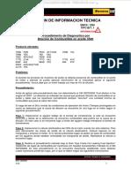 Material Boletin Informacion Tecnica Procedimiento Diagnostico Dilucion Combustible Aceite 3500 Problemas Recomendaciones