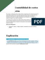 Tema 3. Contabilidad de Costos