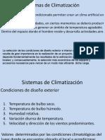Clase Climatización