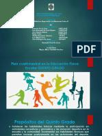 Diapositiva de Plan de Clase de Educacion Fisica
