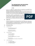 IX Juegos Deportivos Inter Carr Eras ISIL 2010-II (Bases)