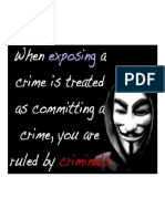 Ruled by Criminals