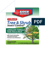 12 Month Tree - Shrub Insect Control II Concentrate