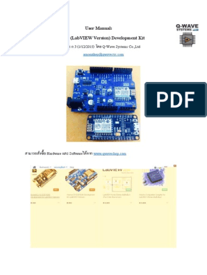 User Manual - ESP8266 (LabVIEW Version) -Q-Wave Systems 1 0 3