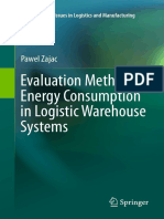 Evaluation Method of Energy Consumption in Logistic Warehouse Systems (2015)