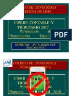 Cierre Contable 2017 LUIS EDUARDO
