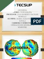 Trabajo - Geodesia