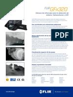 FLIR GFx320 Datasheet ES