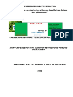 Informe Final Proyecto Capsulas Adelgazante